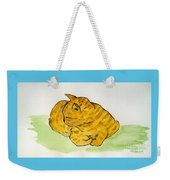 Mr. Yellow Weekender Tote Bag