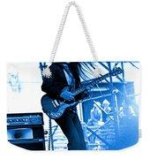 Mrdog #4 In Blue Weekender Tote Bag
