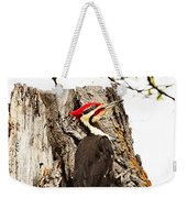 Mr.pileated Poses Weekender Tote Bag