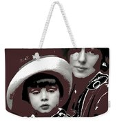 Mrs. Evelyn Nesbit Thaw And Son Arnold Genthe Photo New York 1913-2014 Weekender Tote Bag