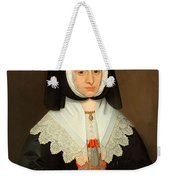 Mrs Lucy Hutchinson, C.1643 Weekender Tote Bag
