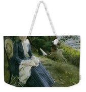 Mrs Symons In Scotland Weekender Tote Bag
