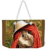 Ms Scarecrow Weekender Tote Bag
