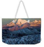 Mt Adams Sunset Weekender Tote Bag