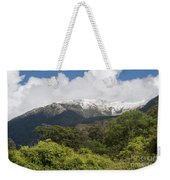 Mt. Aspiring National Park Mountains Weekender Tote Bag