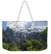 Mt. Aspiring National Park Peaks Weekender Tote Bag