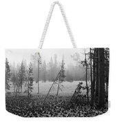 Mt Bachelor Road Weekender Tote Bag