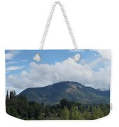 Mt Baldy Panorama From Grants Pass Weekender Tote Bag