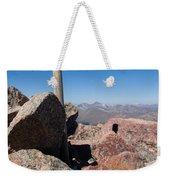 Mt. Bierstadt Summit Weekender Tote Bag