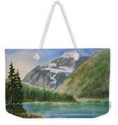 Mt. Edith Cavell W/c Weekender Tote Bag