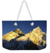 Mt Everest Weekender Tote Bag