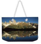 Mt Fitzroy At Dawn Patagonia Weekender Tote Bag