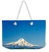 Mt. Hood And Blue Sky Weekender Tote Bag