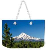 Mt. Hood And Pine Trees Weekender Tote Bag