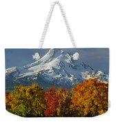 1m5117-mt. Hood In Autumn Weekender Tote Bag