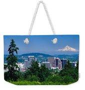 Mt Hood Portland Oregon Usa Weekender Tote Bag