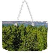 Mt. Hood Vertical Weekender Tote Bag