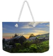 Mt Leconte Before Dawn Weekender Tote Bag by Debra and Dave Vanderlaan
