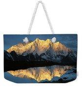 Mt Makalu And Mt Chomolonzo Weekender Tote Bag