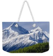 1m3627-mt. Outram And Mt. Forbes Weekender Tote Bag