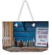 Mt Pleasant Seafood Weekender Tote Bag