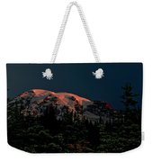 Mt Rainier At Dawn Weekender Tote Bag