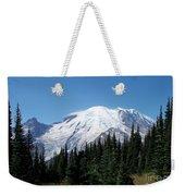 Mt. Rainier In August Weekender Tote Bag