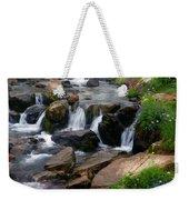Mt Rainier Mountain Stream Weekender Tote Bag