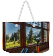 Mt. Rainier Visitor's Center Weekender Tote Bag