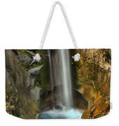 Mt Rainier Waterfall Weekender Tote Bag