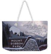 Mt Robson  Weekender Tote Bag