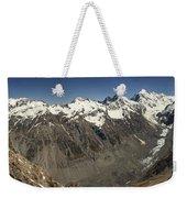 Mt Sefton Hooker Glacier And Mt Cook Weekender Tote Bag