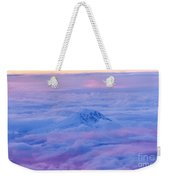 Above The Clouds At Sunset Weekender Tote Bag