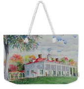 Mt. Vernon In The Fall Weekender Tote Bag
