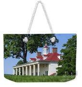 Mt Vernon Mansion Weekender Tote Bag