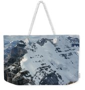 T-703510-mt. Victoria Seen From Mt. Lefroy Weekender Tote Bag