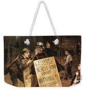 Much Ado About Nothing Weekender Tote Bag