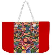 Much More Than A Face - A Joy Of Design Series Compilation Weekender Tote Bag