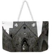 Muckross Abbey Steeple Weekender Tote Bag