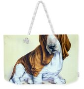 Mucky Pup Weekender Tote Bag by Andrew Farley