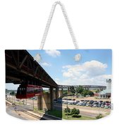 Mud Island In Memphis Weekender Tote Bag
