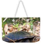 Mud Turtle Weekender Tote Bag