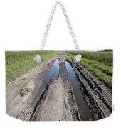 Muddy Country Road Weekender Tote Bag