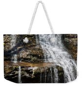 Muddy Creek Falls At Low Water At Swallow Falls State Park In Western Maryland Weekender Tote Bag