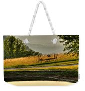 Muddy Pond Field Weekender Tote Bag