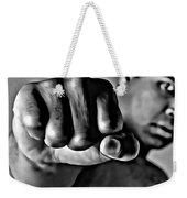 Muhammad Ali Fist Weekender Tote Bag
