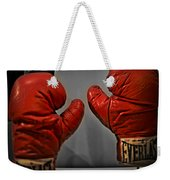 Muhammad Ali's Boxing Gloves Weekender Tote Bag by Bill Cannon