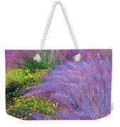 Muhly Grass In The Morning Weekender Tote Bag