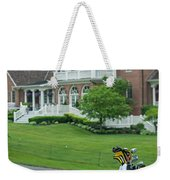D12w-289 Golf Bag At Muirfield Village Weekender Tote Bag
