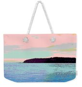 Mukilteo Clinton Ferry Panel 2 Of 3 Weekender Tote Bag